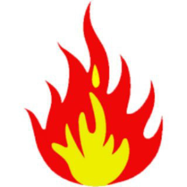 Огонь картина для детей