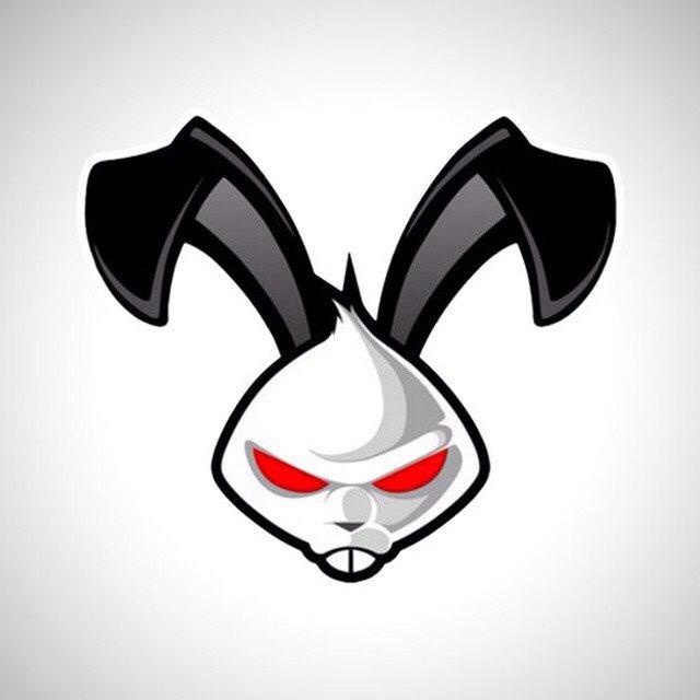 Картинка злой заяц