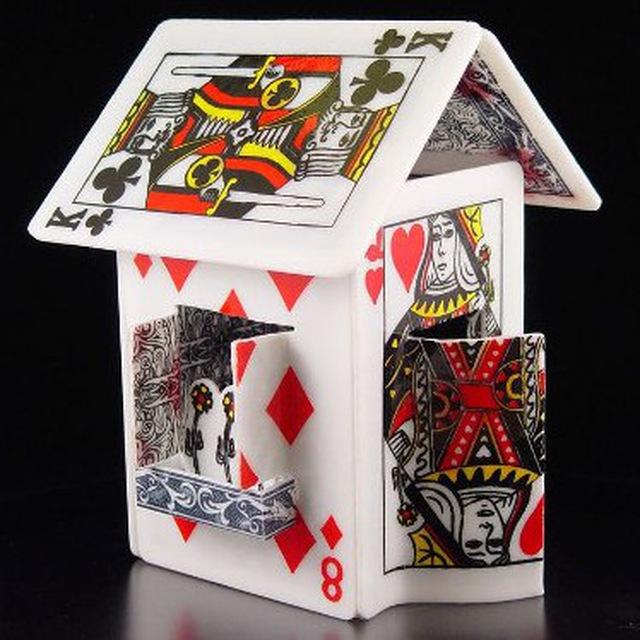жесткой проволоке карточный домик картинка деталей
